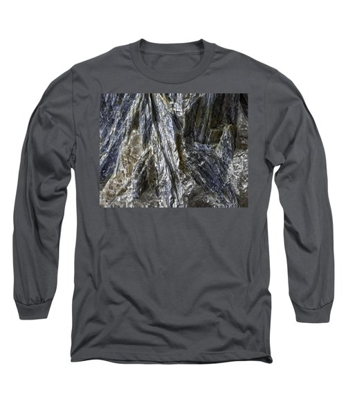 Earth Portrait Kyanite 001-089 Long Sleeve T-Shirt