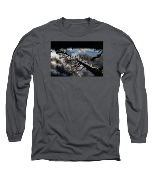 Earth To Water Long Sleeve T-Shirt by Alana Thrower