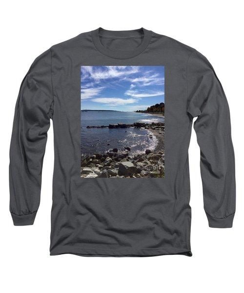 East End Beach Portland, Maine, October 2015 Long Sleeve T-Shirt