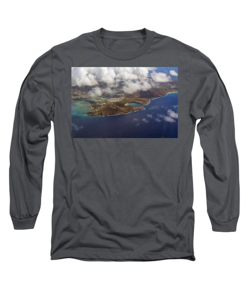 East Oahu From The Air Long Sleeve T-Shirt
