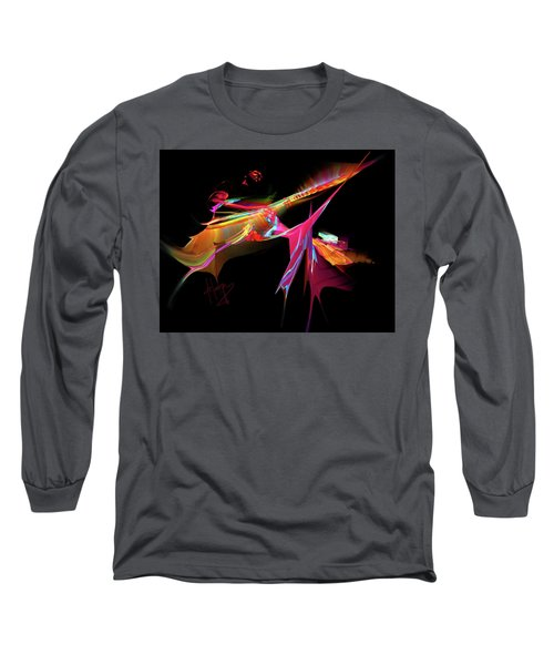 East Of The Sun Long Sleeve T-Shirt by DC Langer