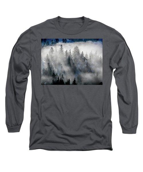East Shore Inversion, Lake Tahoe Long Sleeve T-Shirt