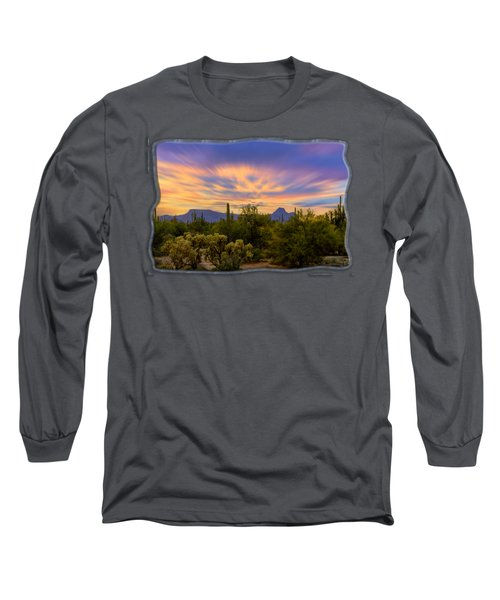 Easter Sunset H18 Long Sleeve T-Shirt by Mark Myhaver