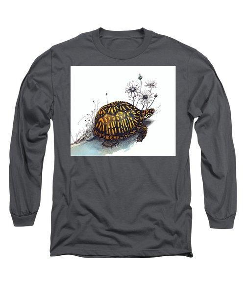 Eastern Box Turtle Long Sleeve T-Shirt