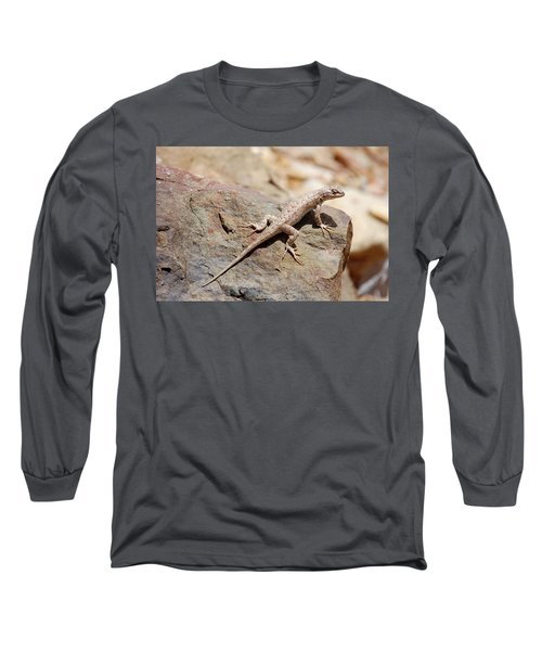 Eastern Fence Lizard, Sceloporus Undulatus Long Sleeve T-Shirt