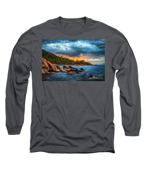 Eastern Glow At Sunset Long Sleeve T-Shirt