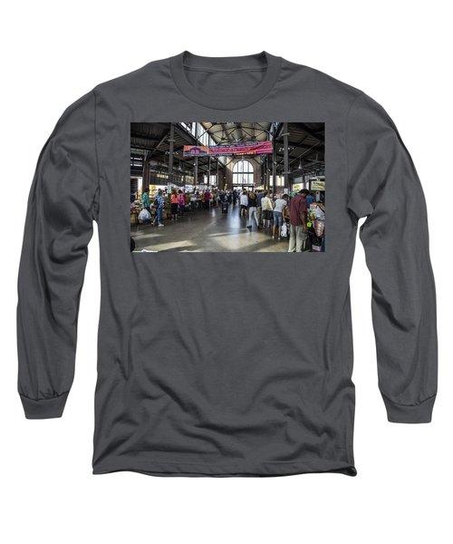 Eastern Market Detroit Saturday  Long Sleeve T-Shirt