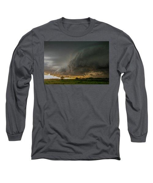 Eastern Nebraska Moderate Risk Chase Day Part 2 004 Long Sleeve T-Shirt