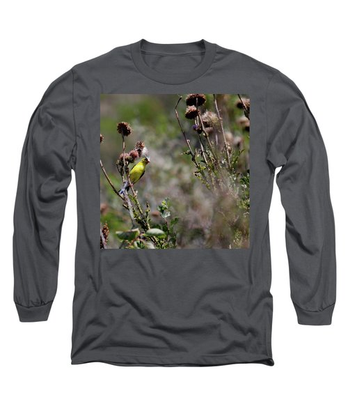 Eating Natural Long Sleeve T-Shirt