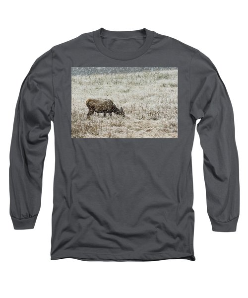 Eating Snow Maybe Long Sleeve T-Shirt