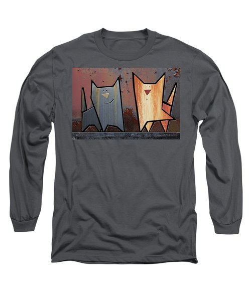 Eccentric Long Sleeve T-Shirt by Joan Ladendorf
