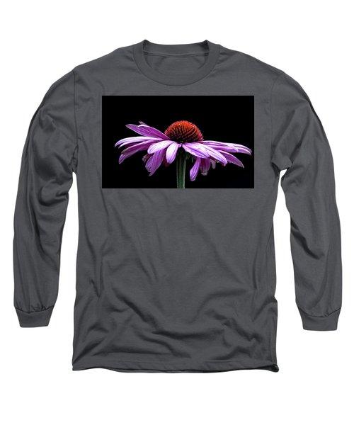 Echinacea Long Sleeve T-Shirt by Sheldon Bilsker