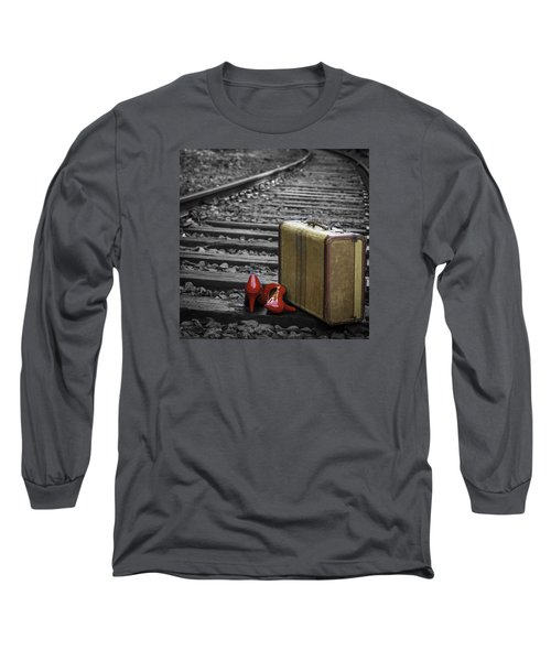 Echoes Of A Past Life Long Sleeve T-Shirt by Patrice Zinck
