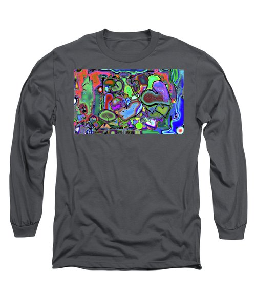 Eclectic Love Overflows Long Sleeve T-Shirt
