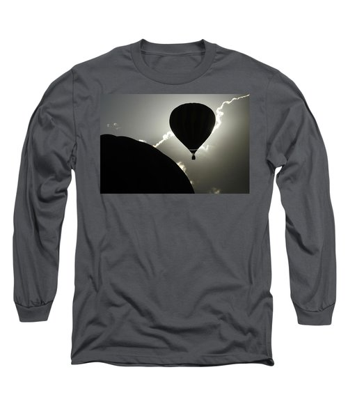 Long Sleeve T-Shirt featuring the photograph Eclipse by Marie Leslie