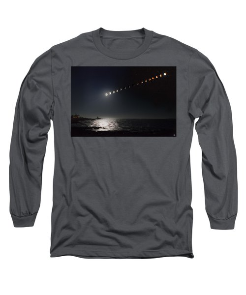 Eclipse Of The Moon Long Sleeve T-Shirt