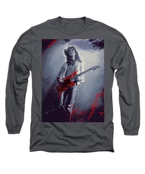 Eddie Van Halen Long Sleeve T-Shirt