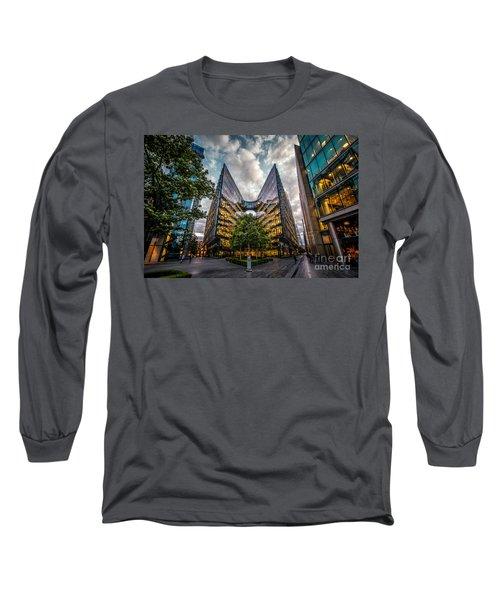 Edges Long Sleeve T-Shirt by Giuseppe Torre