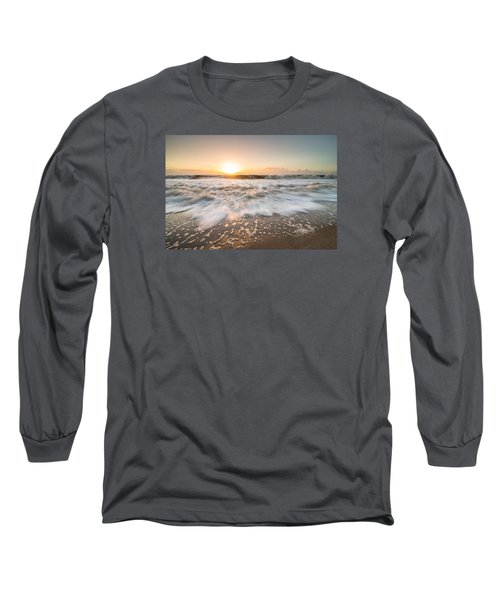 Edisto Island Sunrise Long Sleeve T-Shirt by Serge Skiba