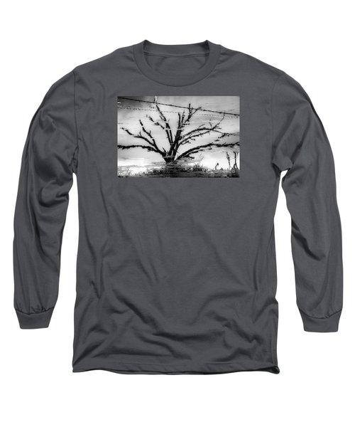 Eerie Reflections Long Sleeve T-Shirt