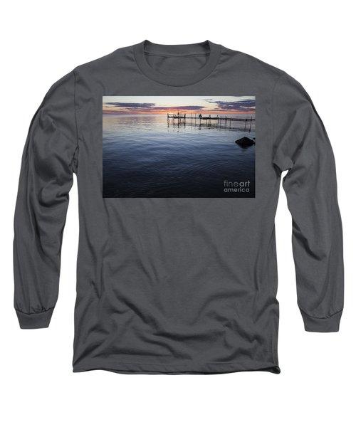 Egg Harbor Sunset Long Sleeve T-Shirt