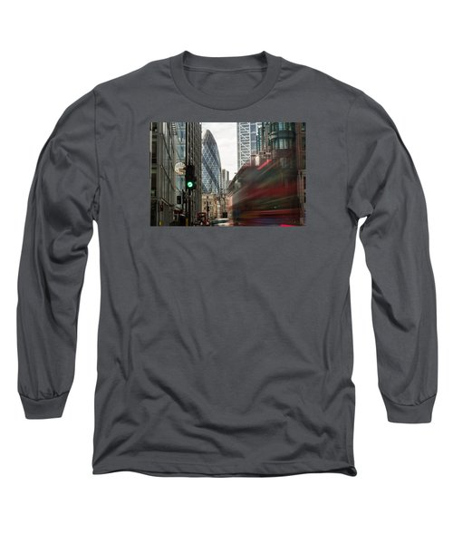 Egg Shaped Building A Long Sleeve T-Shirt