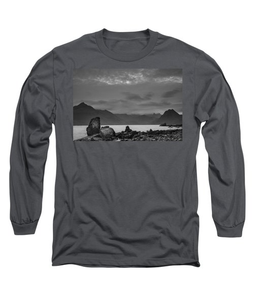 Egol Beach On The Isle Of Skye In Scotland Long Sleeve T-Shirt