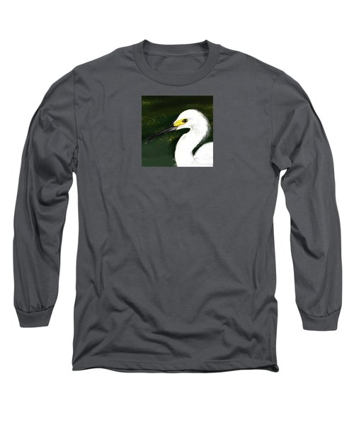 Egret Long Sleeve T-Shirt