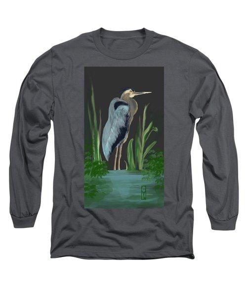Egret I Long Sleeve T-Shirt