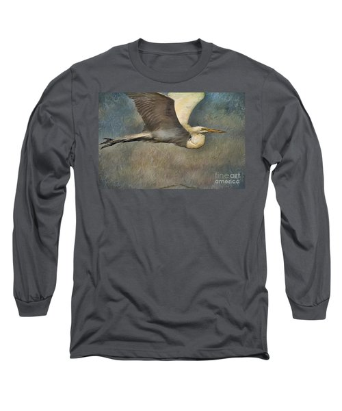 Egret Journey Long Sleeve T-Shirt