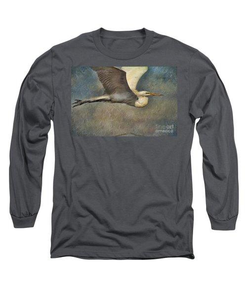 Egret Journey Long Sleeve T-Shirt