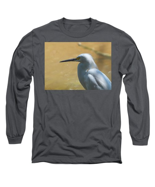 Egret Pose Long Sleeve T-Shirt