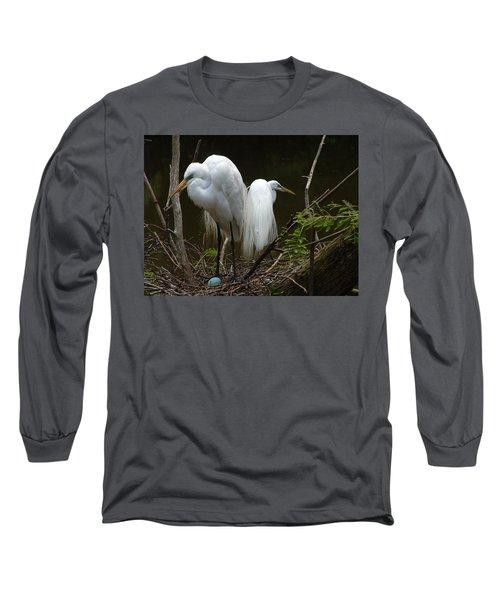 Egrets Long Sleeve T-Shirt
