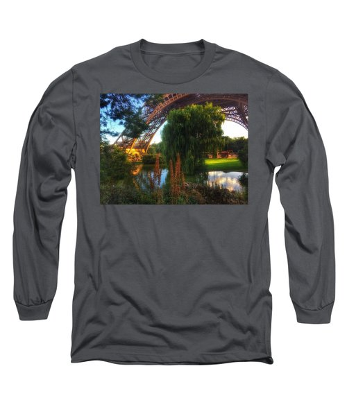 Eiffel Long Sleeve T-Shirt by Marty Cobcroft