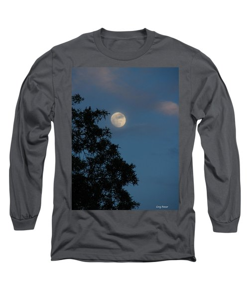 Long Sleeve T-Shirt featuring the photograph Eight Thirty Two Pm by Greg Patzer