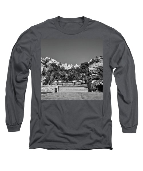 El Capistrano, Nerja Long Sleeve T-Shirt by John Edwards