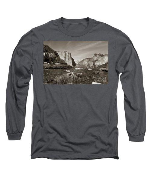 El Capitan Long Sleeve T-Shirt by Joseph G Holland