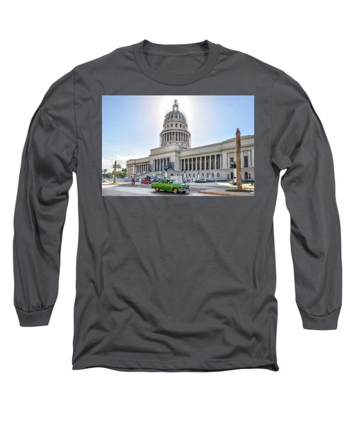 El Capitolio Long Sleeve T-Shirt