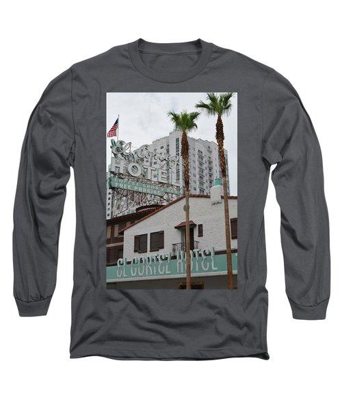 El Cortez Hotel Las Vegas Long Sleeve T-Shirt