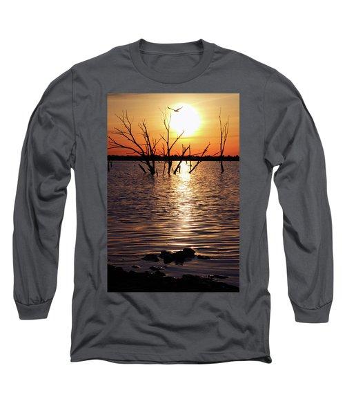 El Dorado Lake Morning Long Sleeve T-Shirt