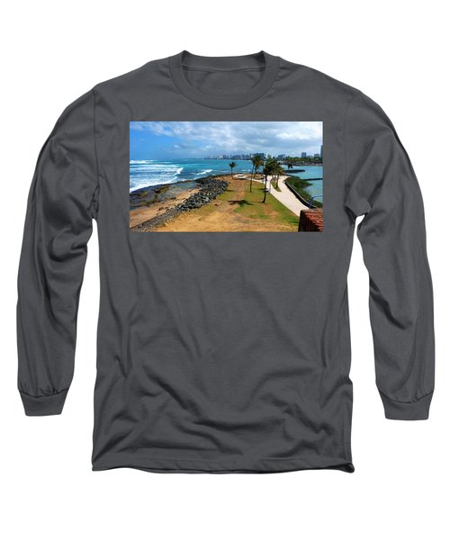 El Escambron Long Sleeve T-Shirt by Ricardo J Ruiz de Porras
