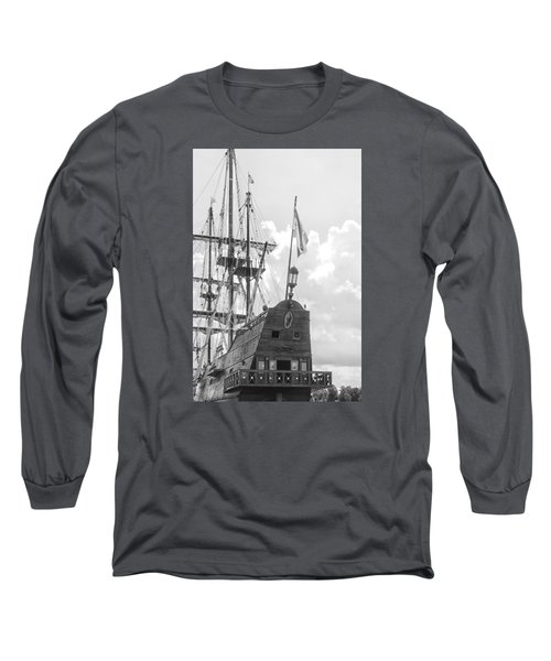 Long Sleeve T-Shirt featuring the photograph El Galeon by Bob Decker