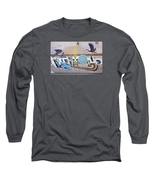 Long Sleeve T-Shirt featuring the photograph El Kamino Wild Mural by Jean Haynes
