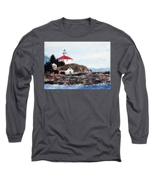 Eldred Rock Lighthouse Long Sleeve T-Shirt