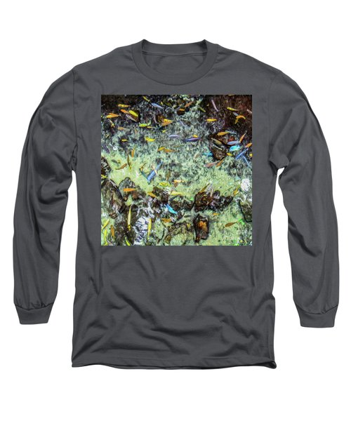 Electric Fish In The Pond Long Sleeve T-Shirt