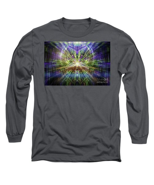Electric Owl  Long Sleeve T-Shirt
