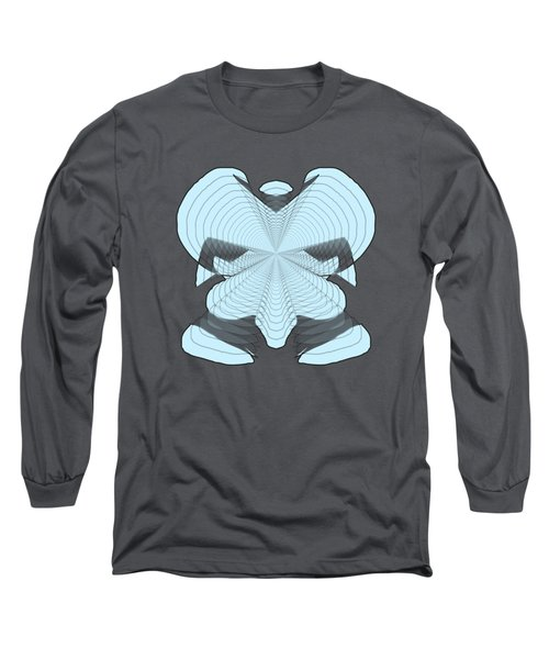 Elephant In The Room Long Sleeve T-Shirt by Cathy Harper
