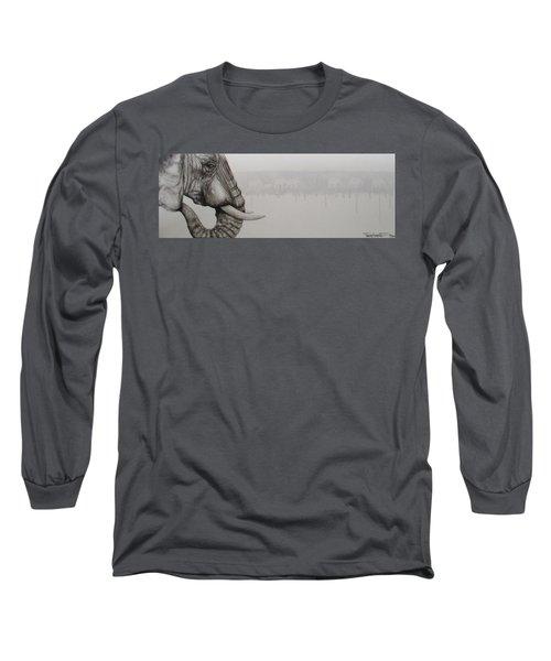 Elephant Tears Long Sleeve T-Shirt