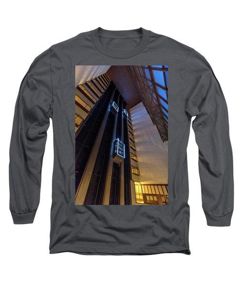 Long Sleeve T-Shirt featuring the photograph Elevated by Randy Scherkenbach
