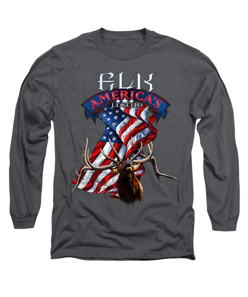 Elk America's Legend V2 Long Sleeve T-Shirt